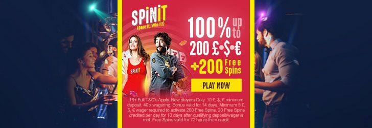 Spinit Casino free spins