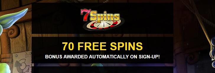 7 Spins Casino Free Spins No Deposit