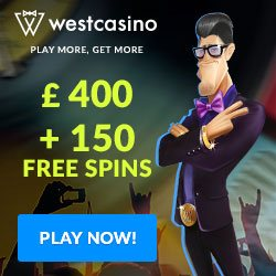 West Casino Free Spins