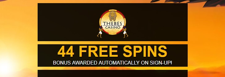 Thebes Casino Free Spins No Deposit
