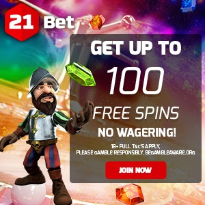 21 Bet Casino Free Spins