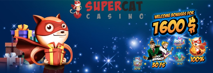 Super Cat Casino Free Spins No Deposit