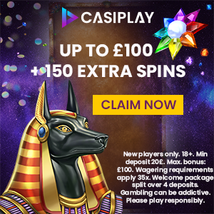 CasiPlay Casino free spins