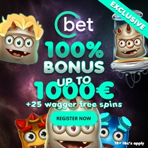 CBET Casino Free spins no wager