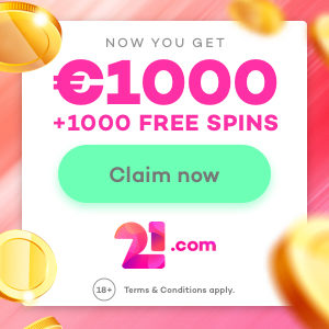 21.com Casino Free Spins No Deposit