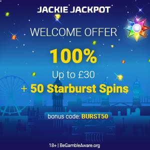 jackie jackpot casino free spins