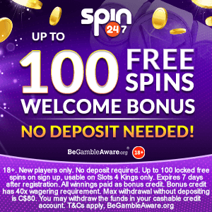 Spin 247 Casino Free Spins No Deposit